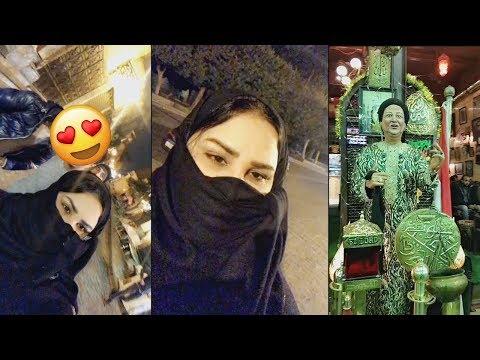 الفنانة أحلام متنكرة بالنقاب وتتمشى في شوارع القاهرة