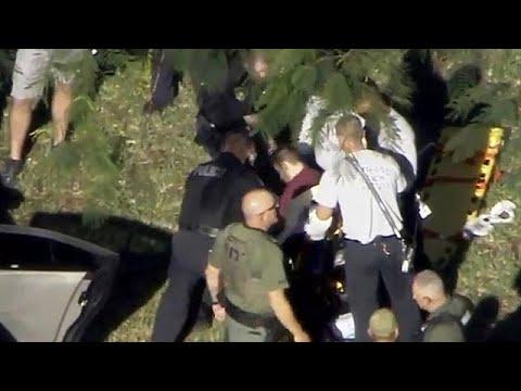 شاهد لحظة اعتقال منفّذ هجوم فلوريدا