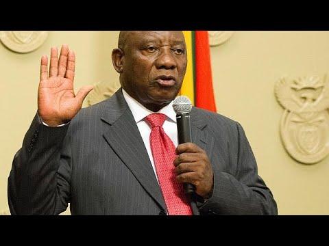 شاهد  سيريل رامافوزا الوجه الجديد لجنوب أفريقيا