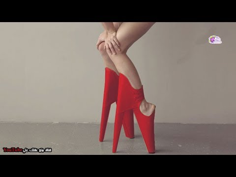 شاهد أغرب 10 أحذية نسائية في العالم
