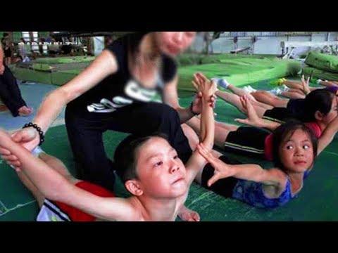 شاهد كيفية تدريب الأطفال في الصين للأولمبياد