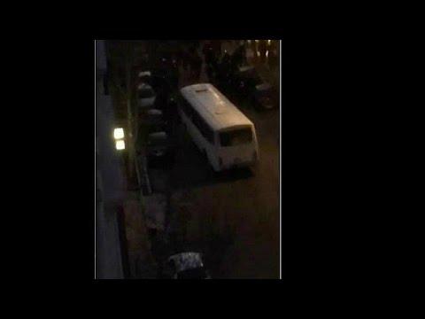 شاهد دهس 3 ضباط إيرانيين في العاصمة طهران