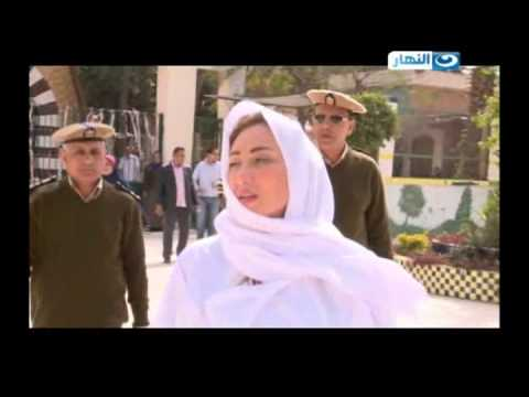 شاهد ريهام سعيد أثناء عملية التفتيش داخل سجن نساء القناطر