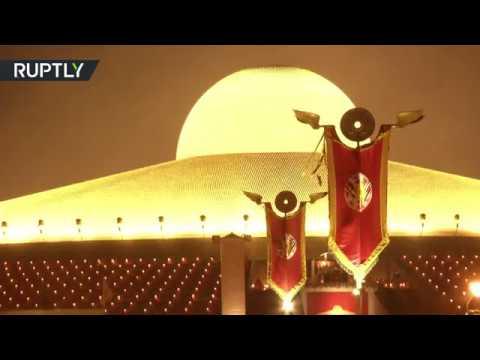 شاهد انطلاق مهرجان بدر كامل في معبد وات فرا داماكايا