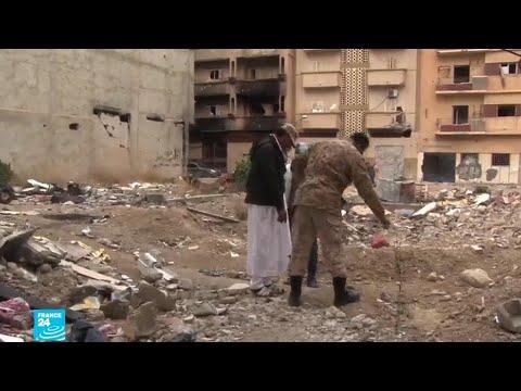 شاهد مواطنو مدينة بنغازي يعودون من جديد إلى الحياة