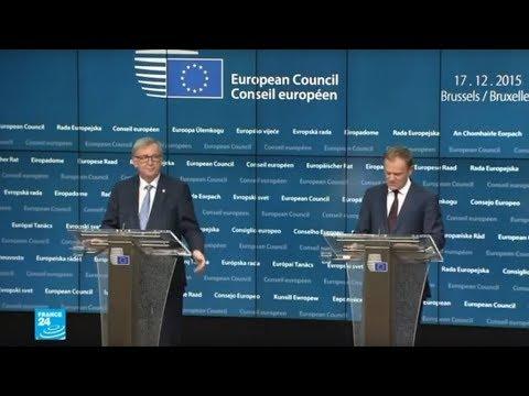 شاهد الاتحاد الأوروبي يهدد ترامب بفرض رسوم جمركية على سلع أميركية