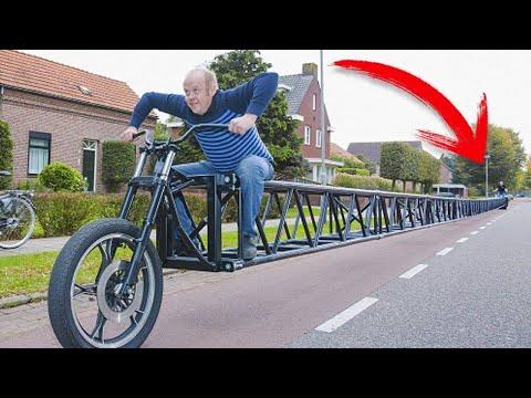 شاهد أغرب 10 دراجات بالعالم