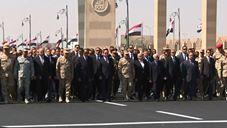 الرئيس السيسي يتقدم الجنازة العسكرية لصفي الدين أبو شناف