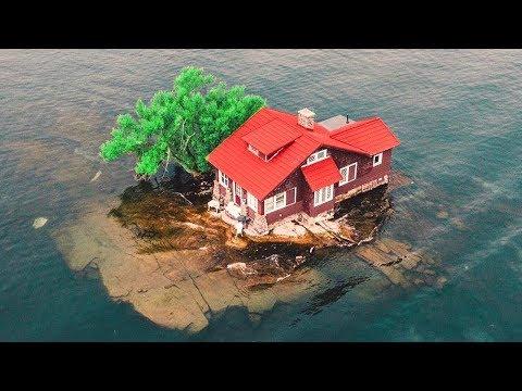 10 منازل موجودة في أماكن مذهلة وخيالية