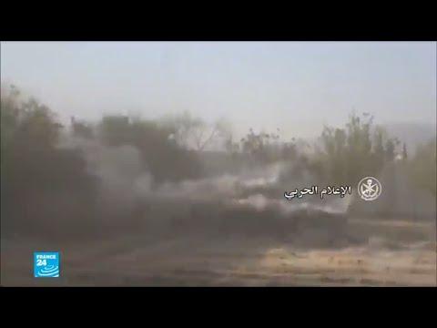 شاهد الجيش السوري يُضيّق الخناق على الغوطة الشرقية