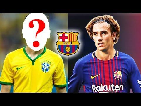 شاهد  خمس لاعبين يتعاقدون مع فريق برشلونة