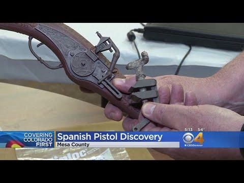 شاهد العثور على أقدم مسدس في التاريخ