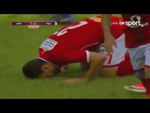 شاهد هدف ميدو جابر في مباراة الأهلي و مونانا الغابوني