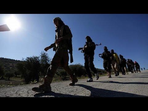 شاهد دخول الجيش السوري الحر لعفرين