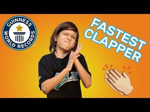 طفل يكسر الرقم القياسي ويسجل اسمه في موسوعة جيينس بـ«التصفيق»