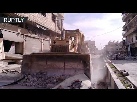 شاهد الجيش السوري يسيطر على منطقة سقبا بالكامل
