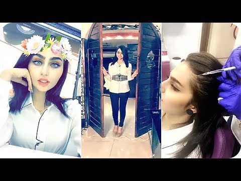 شيماء قاسم في زيارة إلى مركز الشيماء للتجميل