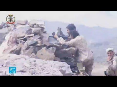 شاهد جبهات مشتعلة ومعارك دامية في اليمن