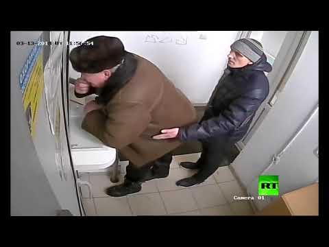 شاهد روسي محترف في سرقة الأموال