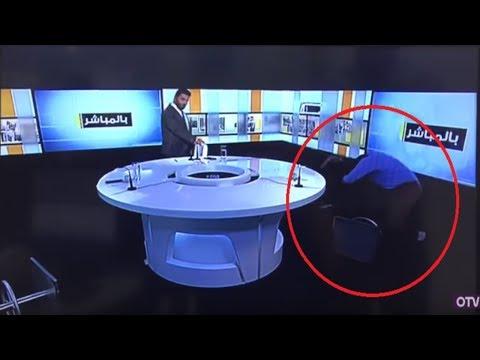 شاهد عراك على الهواء مباشرة مقاطع من برامج عربية