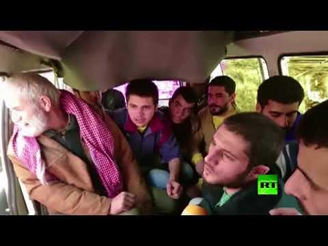 تحرير 13 عسكريًا سوريًا كانوا محتجزين في حرستا