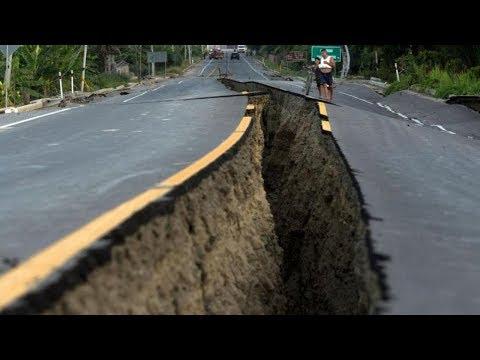 شاهد لحظة حدوث الزلزال بالصوت والصورة