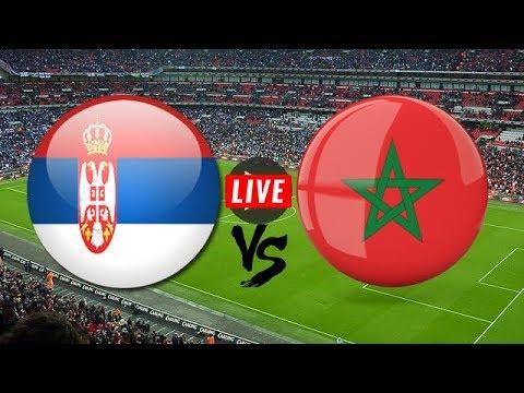 شاهد مباراة المغرب وصربيا بث مباشر
