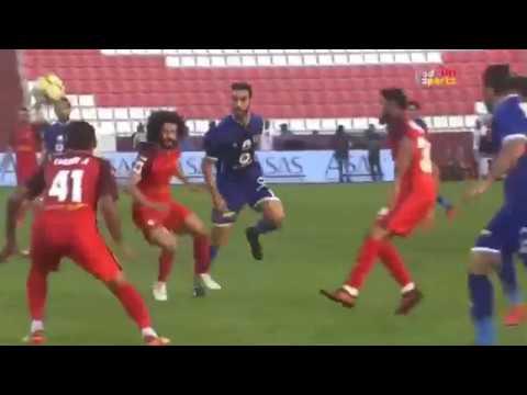 شاهد  هدف الأهلي الأول في شباك الفجيرة الإماراتي