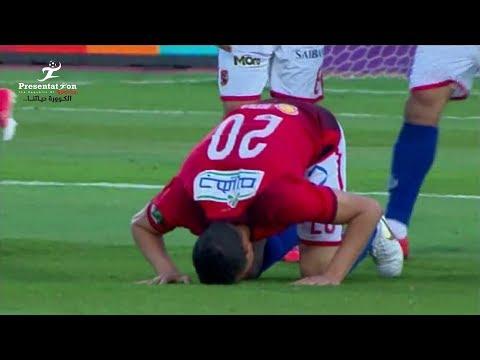 شاهد سعد سمير يُحرز الهدف الأول للأهلي أمام بتروجت