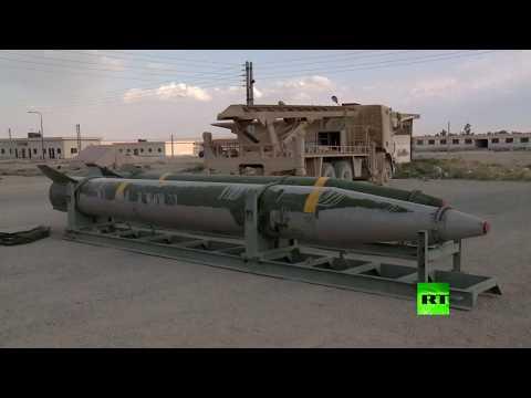 شاهد الجيش السوري يستعرض أسلحة مقاتلي الغوطة الشرقية