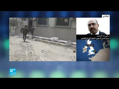 شاهد مقتل 26 جنديًا سوريًا قرب تدمر