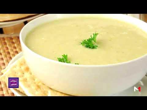 شاهد طريقة إعداد الحساء الأبيض بالشعير