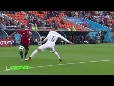 ملخص مباراة المنتخب المصري أمام نظيره الأوروغواياني