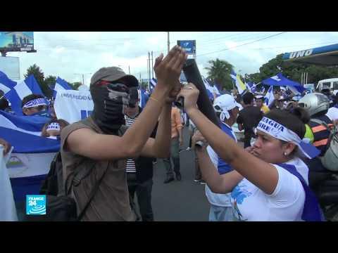 مواجهات عنيفة بين الشرطة والمحتجين في نيكاراغوا