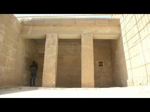 شاهدمصر تفتح مقبرة ميحو الفرعونية للزائرين والسياح