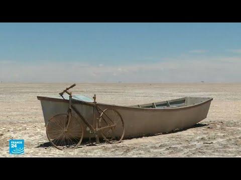 اختفاء ثاني أكبر بحيرة في بوليفيا بسبب موجة جفاف كبيرة
