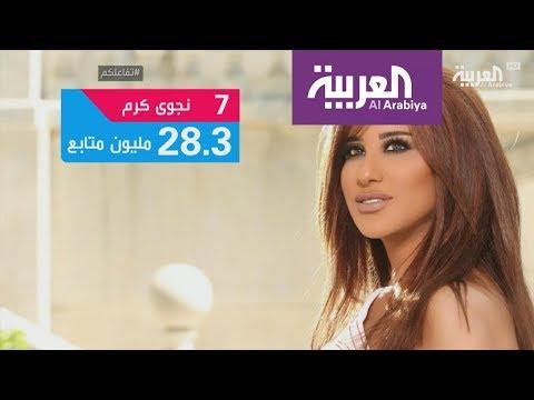 شاهد أكثر 10 نجوم عرب متابعة على مواقع التواصل الاجتماعي