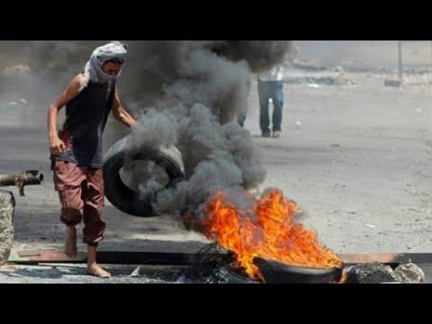 بالفيديو تواصل الاشتباكات العنيفة بمحيط مدينة الحديدة في اليمن