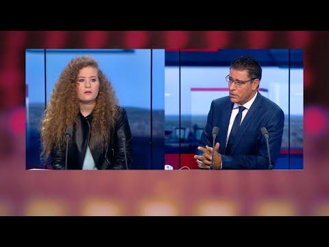 شاهد الناشطة الفلسطينية عهد التميمي تكشف أسرار اعتقالها بالصوت والصورة