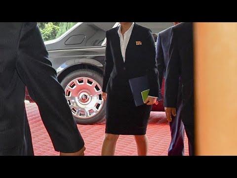 شاهد سيارة زعيم كوريا الشمالية تُثير فضول الصحافيين