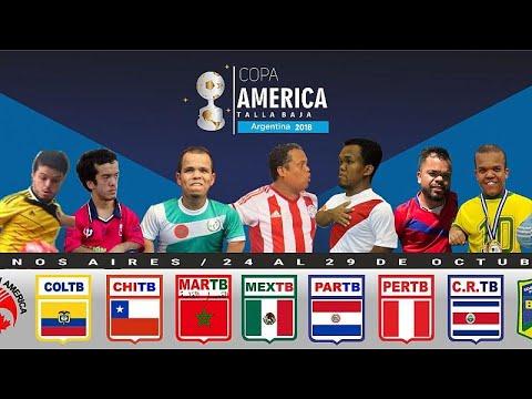 كوبا أميركا لقصار القامة بالأرجنتين والمغرب ضيف الشرف