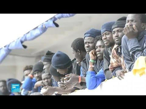 إنقاذ مئات المهاجرين غير الشرعيين في البحر المتوسط