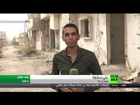 أسلحة ووثائق خلفها داعش قبل هزيمته في ريف حمص الشرقي