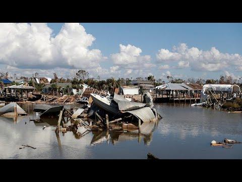 27 قتيلًا ومئات المفقودين حصيلة ضحايا الإعصار مايكل في أميركا