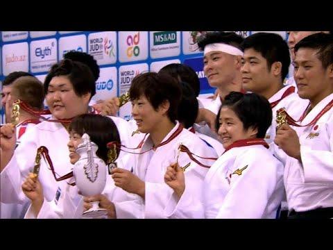 اليابان تحتلّ صدارة الترتيب في بطولة العالم بباكو
