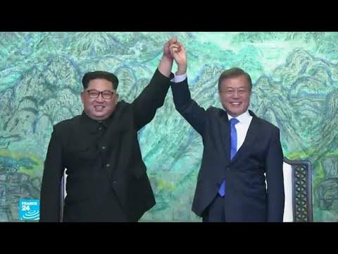 رئيس كوريا الجنوبية يزور الشمال
