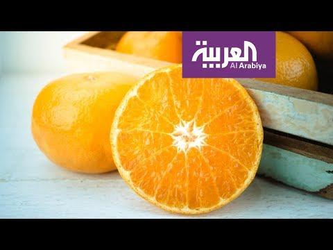 شاهد البرتقال مضر للمصابين بالبرد والزكام