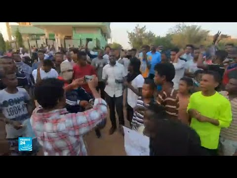 وقفة احتجاجية داخل الحرم الجامعي في الخرطوم