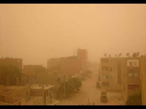 شاهد طقس سيئ يضرب المحافظات المصرية