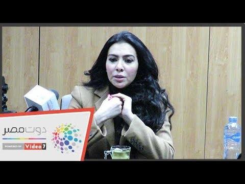 شاهدميرهان حسين تتحدث عن واقعةالفيديوهات الإباحية